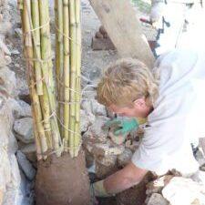 fundaciones ecologicaspara arcos de caña con John Cory-Wright
