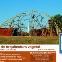 bioconstrucción con caña en Prado Negro