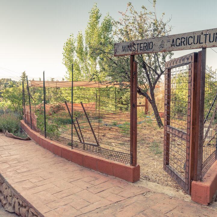 Huerto de permacultura en Prado Negro